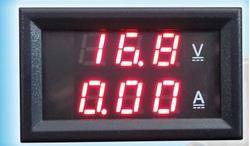 電圧電流計 直流100Aまで計測可 電圧電流管理 埋め込み型