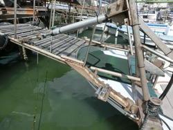 渡船用、油圧ハシゴ一式