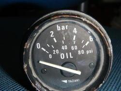 ヤザキ油圧計中古