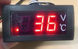水温計 エンジン温度上昇監視に FBやサブ計器として最適