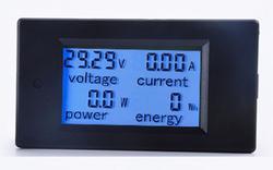 直流100A 電圧電流計、電力、エネルギー計測可 埋め込み式