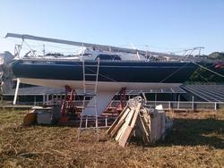 中古ヨット今はなきチタの名艇オセアン22 ★10万円値下げ!