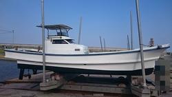 中古ボート・漁船・ジェットボートヤンマーDA26B
