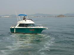 中古ボート・漁船・ジェットボートヤマハSR25 船外機仕様