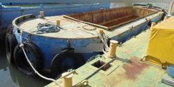 中古その他<br>(大型船・作業船・交通船等)超小型河川改修工事ボックスバージ3隻販売