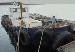 中古その他<br>(大型船・作業船・交通船等)交通兼作業船H3年幅3.2m/240ps4年前にOH済み