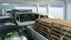 中古その他<br>(大型船・作業船・交通船等)19トン型JCI小型フェリー