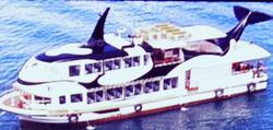 中古その他<br>(大型船・作業船・交通船等)格安H5年観光船ニュージャパン製154人乗り