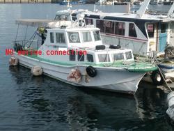 中古その他<br>(大型船・作業船・交通船等)小型船舶 5トン型 定員14名 FRP 交通船 【MOマリンC】