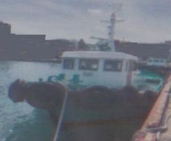 中古その他<br>(大型船・作業船・交通船等)格安H1年18トン曳船・作業船船体化粧直し