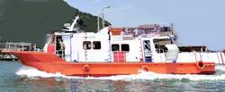 中古その他<br>(大型船・作業船・交通船等)H5年99乗り自然観察・イルカウォッチング・観光船最適1050万