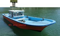中古その他<br>(大型船・作業船・交通船等)小型船舶作業船 4.9トン 12+2名前後スラスター【MOマリンC】