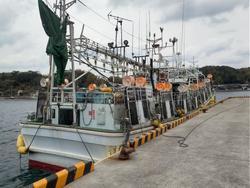 中古その他<br>(大型船・作業船・交通船等)19トンイカ釣り漁船