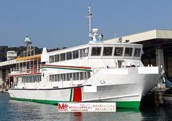 中古その他<br>(大型船・作業船・交通船等)大型船舶 遊覧船 鋼製 109トン 423名 【MOマリンC】