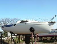 クリックで拡大「美麗、陸置,整備済、ヤマハY19DEX、Y5Ps、L脚、即乗艇」