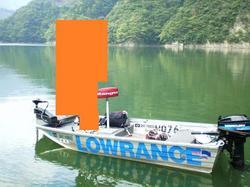 中古ディンギー・アルミ/ゴム/バス用ボート・カヌー/カヤッククントレックス E−12 船検査あり  セット