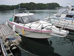 中古ボート・漁船・ジェットボート日産 PF730T