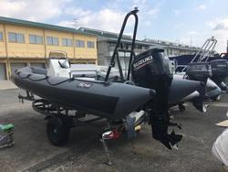 中古ディンギー・アルミ/ゴム/バス用ボート・カヌー/カヤックAVON SEARIDER SR5.40 ZODIAC MILPRO TUBE CUSTOM